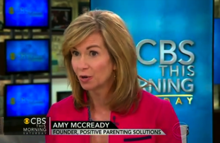 Parenting Expert Amy McCready on CBS Morning Show