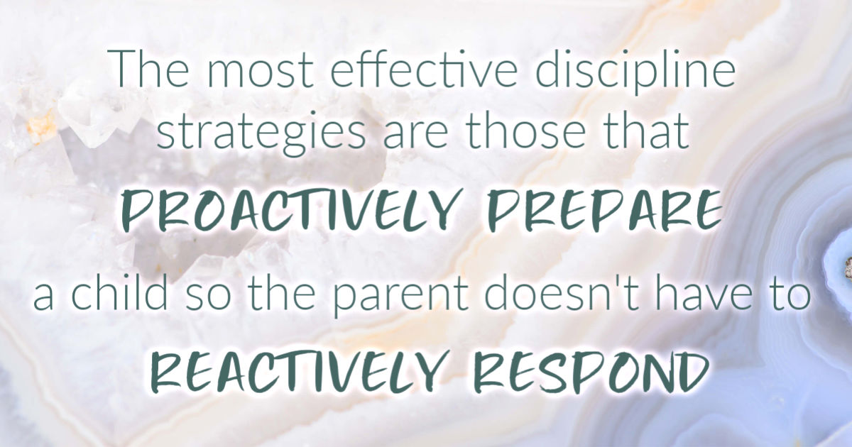 Proactively Prepare so you don't need to Reactively Respond