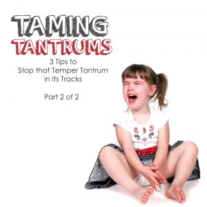 temper tantrums