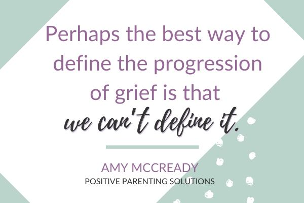Progression of grief definition
