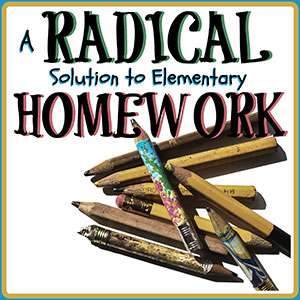 research on homework for elementary students
