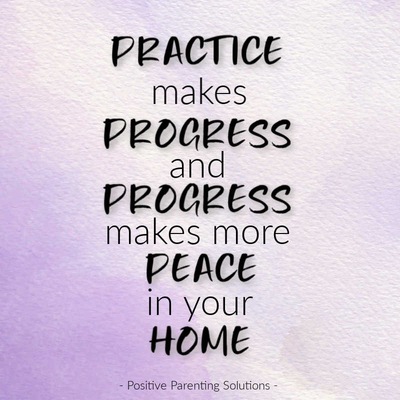 Progress makes peace in your home