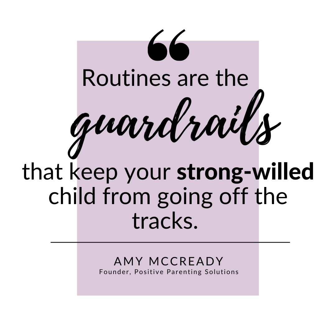strong willed child quote