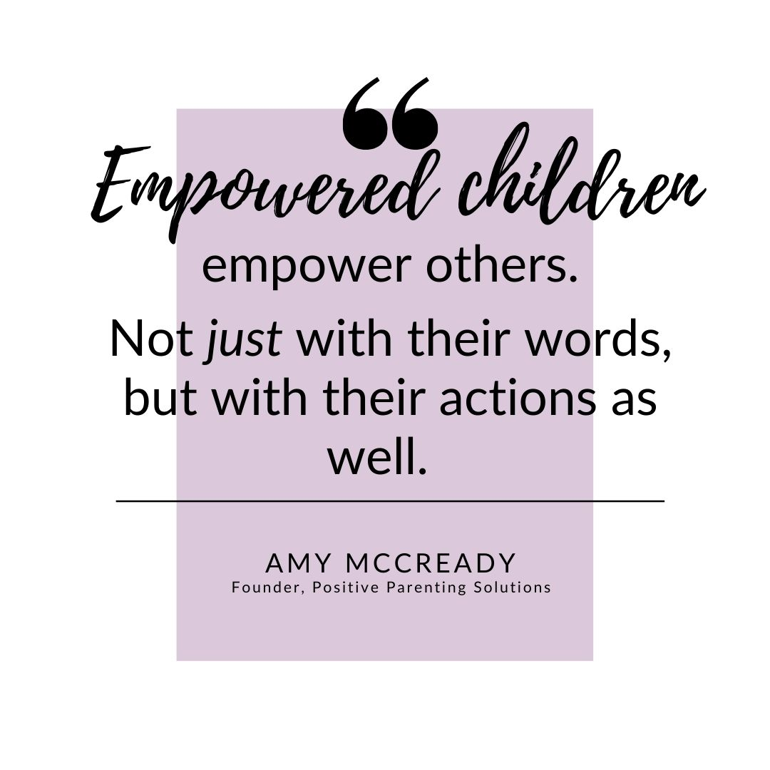 quote about empowered children
