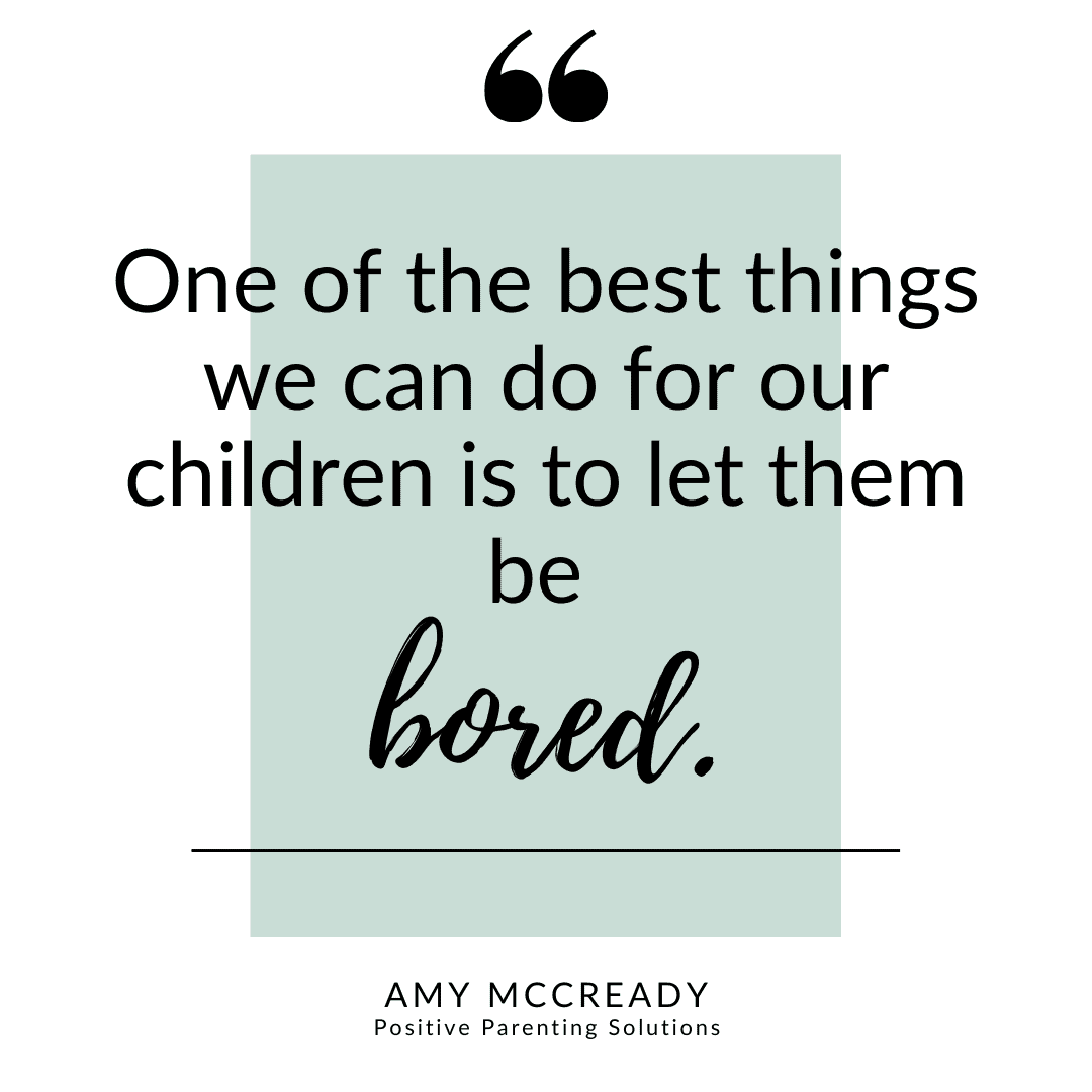 let them be bored quote