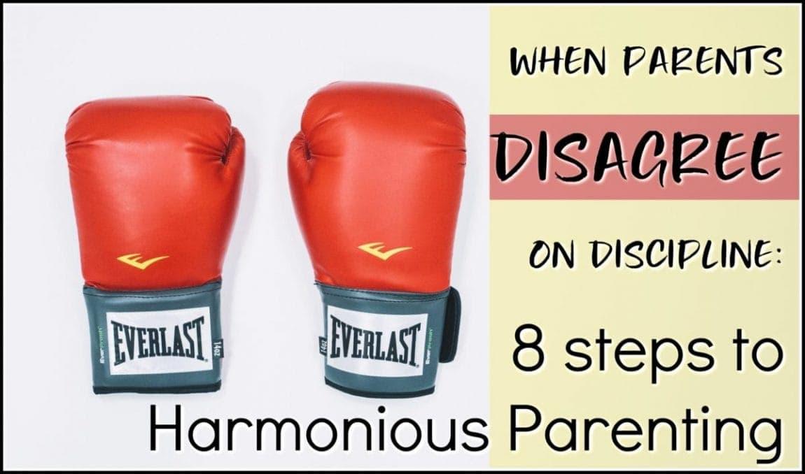 Parents Disagree on Discipline