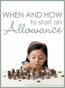 Allowance – When and How Much?