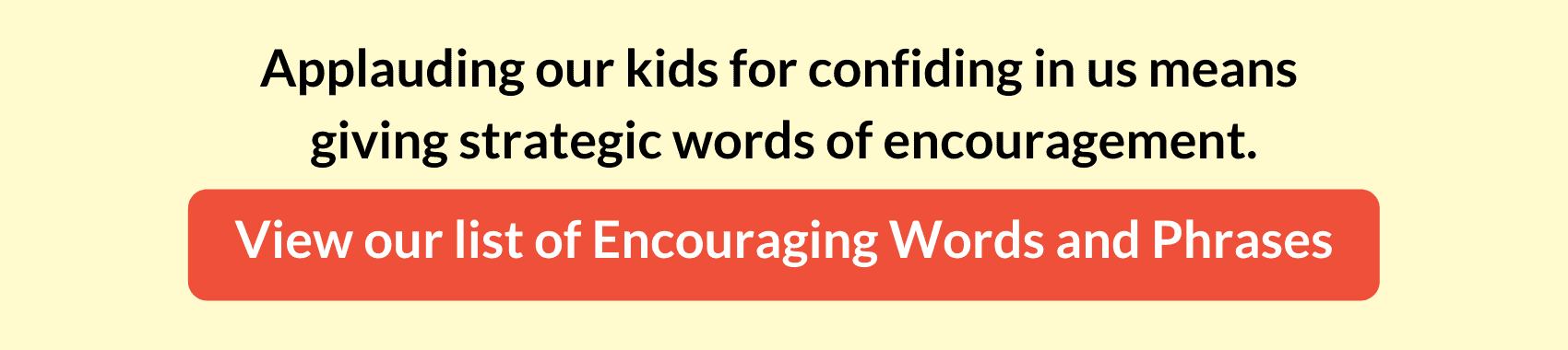 list of encouraging words