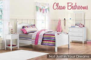 clean bedrooms it can happen at your house