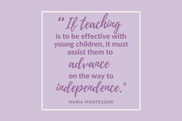 Quote about Raising Independent Kids