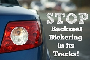 Stop Backseat Bickering in its Tracks
