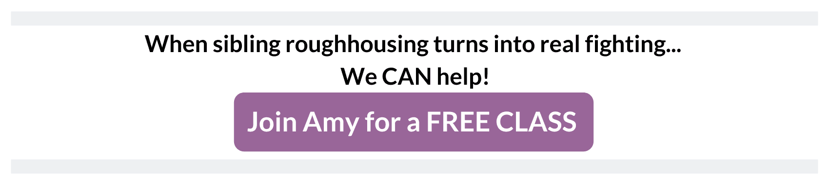 sibling roughhousing